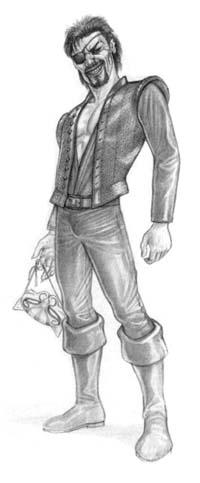 Рисунки на героите Greebman