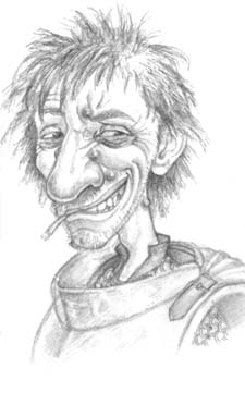Рисунки на героите Nobby