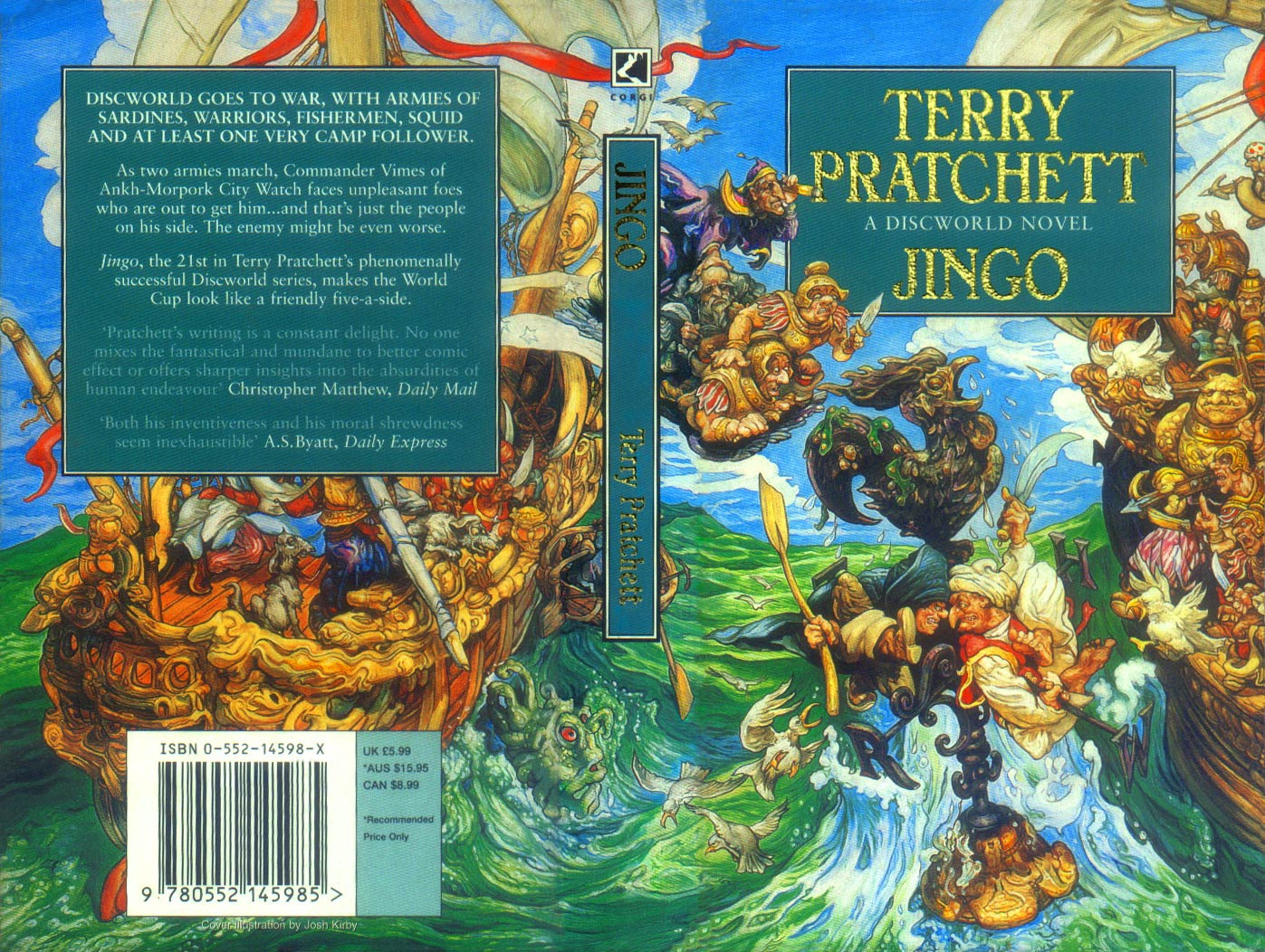 Jingo Book Covers