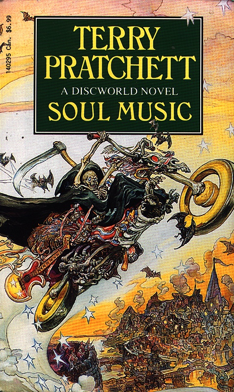 soul music pratchett discworld terry books death covers artist quotes novel birthday happy know pratchetts wiki kirby josh novels lspace
