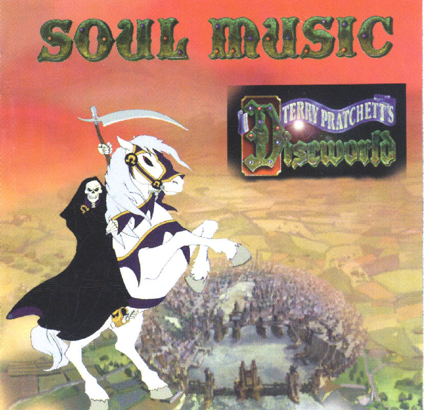 soul music terry pratchett discworld soundtrack covers cd amazon songs kirby josh artist books limited edition lspace
