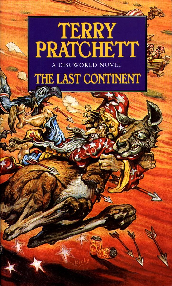 The last continent Bokomslag