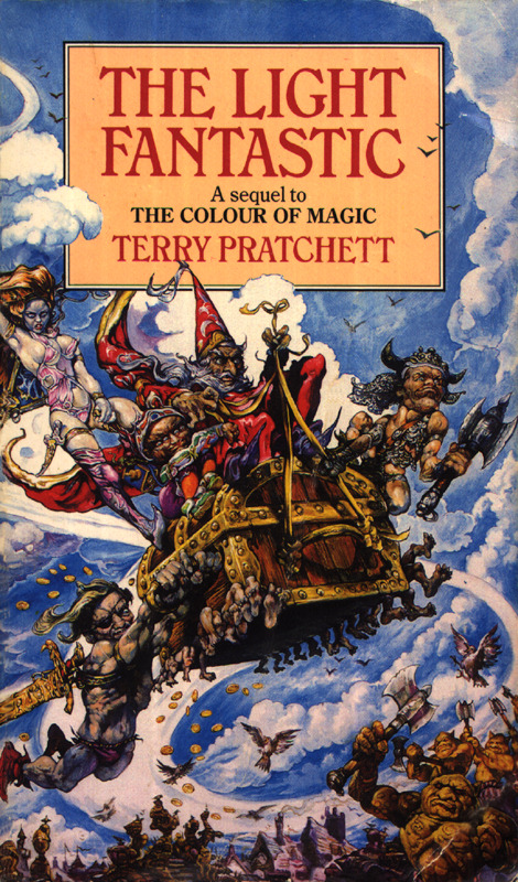 Book Cover Series Quotes ~ The pratchett quote file v light fantastic