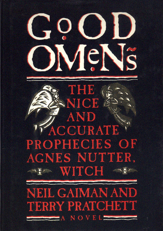 Good Book Cover Pictures : Good omens book covers
